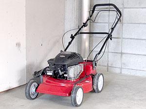 エンジン式芝刈り機の保管方法