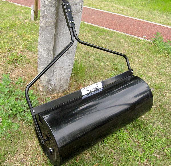 芝生専用転圧ローラー芝の転圧作業用(けん引型) DLR-980 詳細写真1