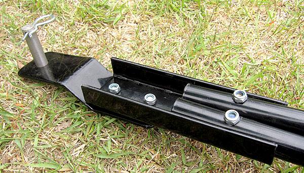 芝生専用転圧ローラー芝の転圧作業用(けん引型) DLR-980 詳細写真7